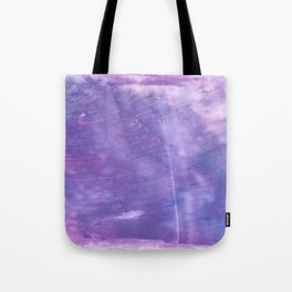 Ube abstract watercolor Tote Bag