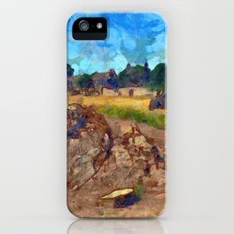 Luca On The Links iPhone Case