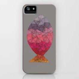 rainbow fish II iPhone Case