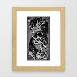 Lukko Framed Art Print