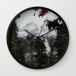 Cascade River Rd Wall Clock