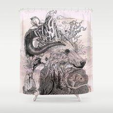 Forest Warden Shower Curtain