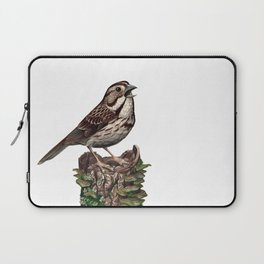 Song Sparrow Laptop Sleeve