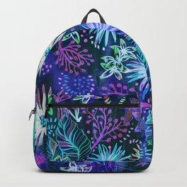 Eden Floral Blue Backpack