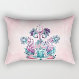 ANELIA PINK Rectangular Pillow