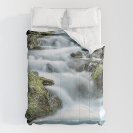Crystal Creek Waterfall Comforters