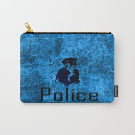 police skull Carry-All Pouch