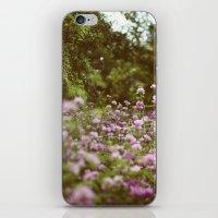 Among the Wildflowers iPhone & iPod Skin