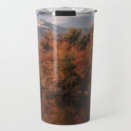 Reflections of Fall Travel Mug