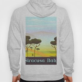 Siracusa Italy travel poster Hoody