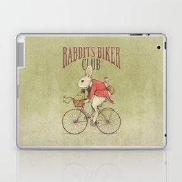 Rabbits Biker Club Laptop & iPad Skin
