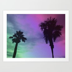 High Palms Art Print