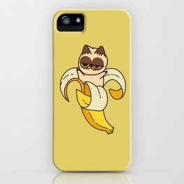 banana Cat Fruits food cats iPhone Case