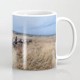 Wyoming Wooden Fence Line Coffee Mug