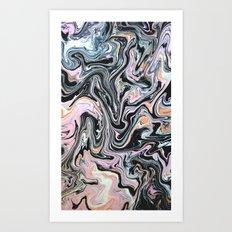 Have a little Swirl Art Print