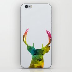 Glass Animal - Deer head iPhone Skin
