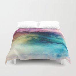 Rainbow Dreams Duvet Cover
