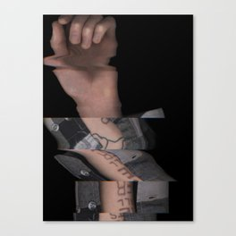Hands On #4 (Series) Canvas Print