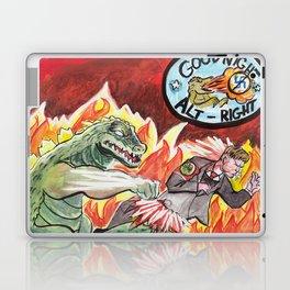 Godzilla vs The Nazis Laptop & iPad Skin