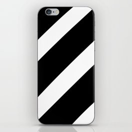 Black'n'White Stripes iPhone Skin