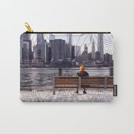 New York Mandala Carry-All Pouch