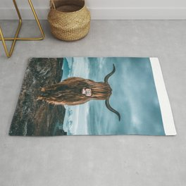 Rusty The Scottish Highland Coo Rug