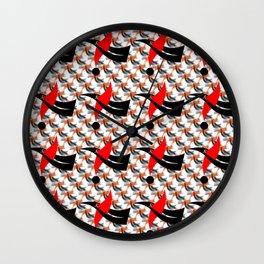Flex pattern 1 Wall Clock