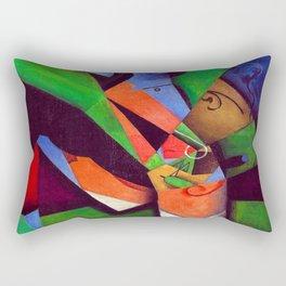 Juan Gris The Smoker Rectangular Pillow