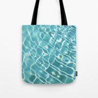 swim Tote Bags featuring Swim by Nimai VandenBos