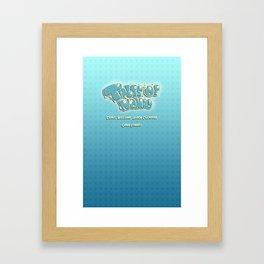 Tales Promo Retry Framed Art Print