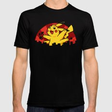 Pikaiju SMALL Black Mens Fitted Tee