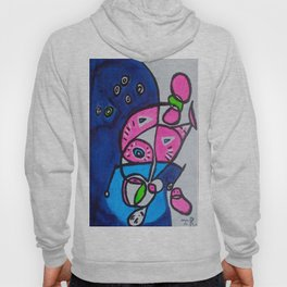 Tripping-Out Kitty Hoody
