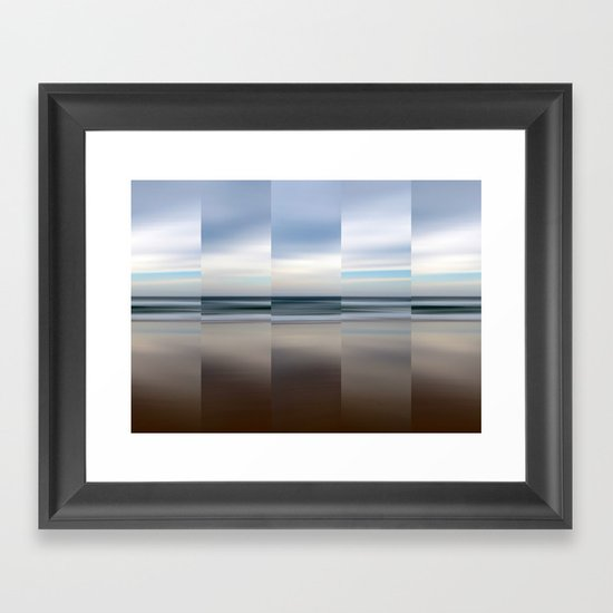 Changing With The Tide Framed Art Print