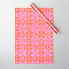 70sDaisyTile Wrapping Paper