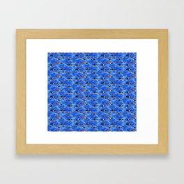Swimming Laps Framed Art Print