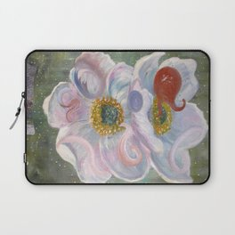 The Happenstance Meeting In The Enchanted Hellebore Laptop Sleeve