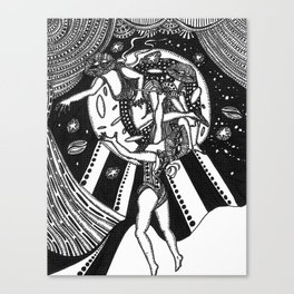 Three Stages  Canvas Print