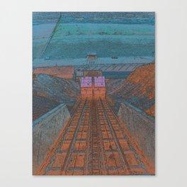 TO THE BEACH Canvas Print