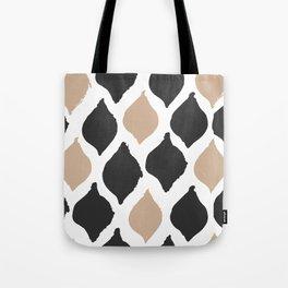 twocolors pattern Tote Bag
