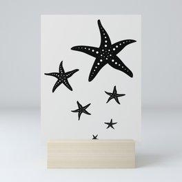 Starfishes Mini Art Print