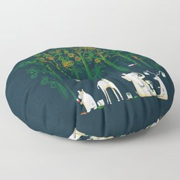 Re-paint the Forest Floor Pillow