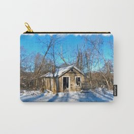 Old House in the Snow Carry-All Pouch