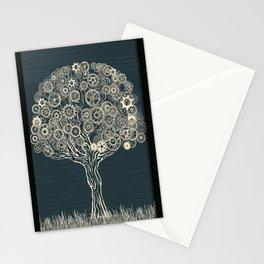 Gear Tree Stationery Cards