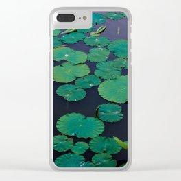 Temple Lilypond Clear iPhone Case