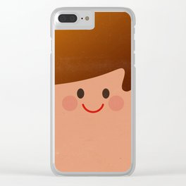 Face I Clear iPhone Case