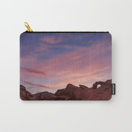 Arch Rock Sunset, Valley of Fire - I Carry-All Pouch