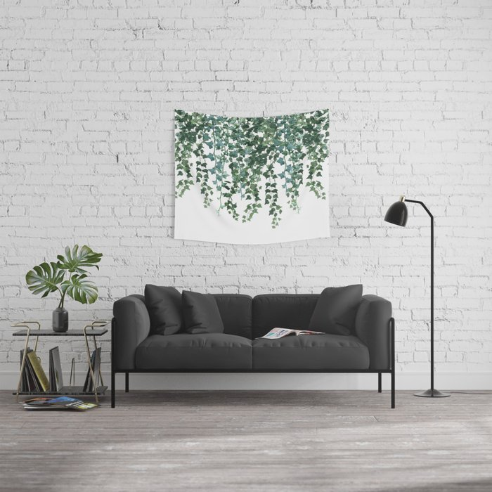 Ivy Vine Drop Wall Tapestry