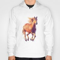 horse Hoodies featuring Horse // Boundless by Amy Hamilton