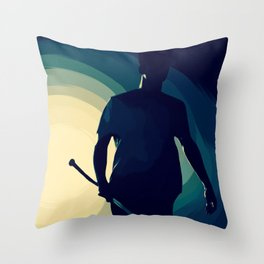'cause we've been fighting lately... Throw Pillow