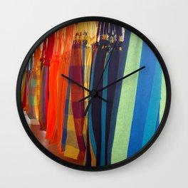 Hammocks Wall Clock